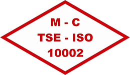 Iso 10002 footer